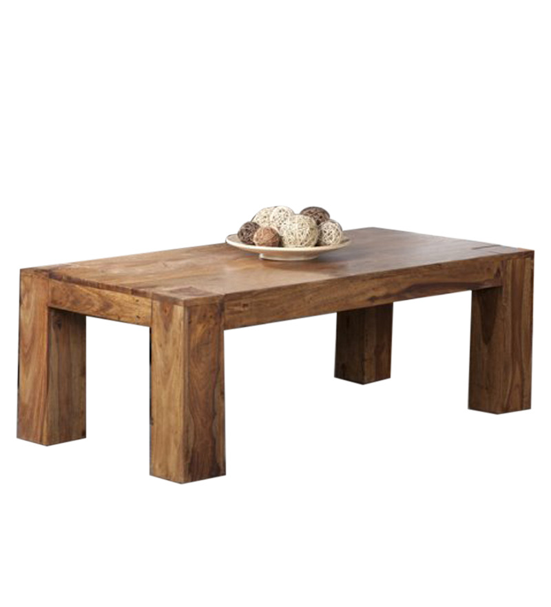 Rectangular low seated coffee table harsha timbers for Low coffee table wood